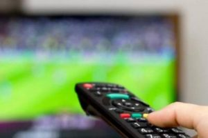 Žiūrėkite futbolą namuose