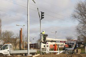 Mieste įrengs daugiau šviesoforų