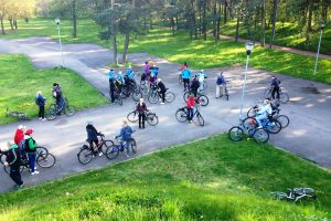 Klaipėdiečiai vėl kviečiami minti dviračius
