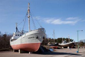 """Laive """"Dubingiai"""" atidaroma ekspozicija"""