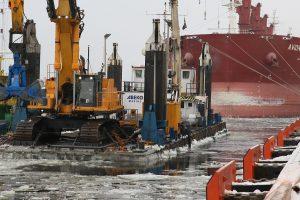 Metų pabaigtuvėms uoste – įspūdingi rekordai