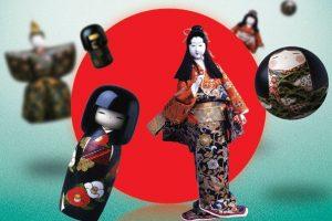 P. Domšaičio galerijoje intriguoja Japonijos lėlės