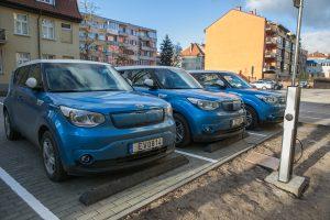 Elektromobiliais Klaipėdos savivaldybė patenkinta