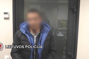 Bedarbis įtariamas prekyba narkotikais