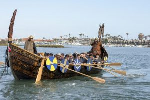 Miestui reikia vikingų laivų