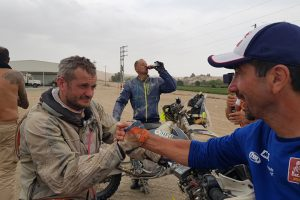 Juodoji Dakaro ralio pusė – aukos