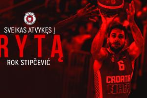 """Vilniaus """"Ryto"""" gretas sustiprino Kroatijos rinktinės įžaidėjas"""
