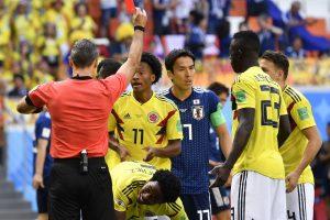 Pasaulio futbolo čempionatas: Japonija nugalėjo Kolumbiją