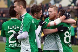 Vilniuje – pirmieji LFF taurės pusfinalio susitikimai
