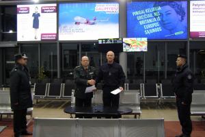 Palangos oro uosto apsaugą pasieniečiai perdavė Viešojo saugumo tarnybai