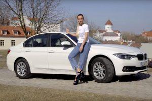 Kokį automobilį renkasi Ieva Stasiulevičiūtė?