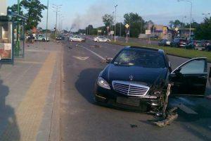 Policija ieško iš avarijos pabėgusio vairuotojo
