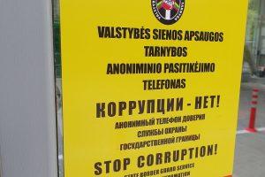 Latvis lietuviams bruko 50 eurų kyšį