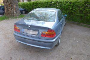 BMW vairuotoją teko tramdyti ašarinėmis dujomis