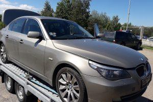 Kaunietis įkliuvo prie Slovakijoje pavogto BMW vairo