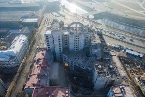 Garsiausias Kauno vaiduoklis baigia išnykti – jau išgabenta 15 tūkst. tonų laužo