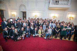 Šaunus Kauno jaunimas įvertintas apdovanojimais