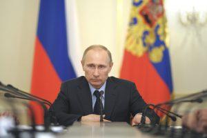 V. Putinas kol kas nereikalauja iš Ukrainos avansinio mokesčio už dujas