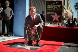 Komikas W. Ferrellas gavo savo žvaigždę Holivudo Šlovės alėjoje