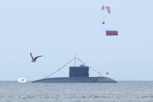 Prie Latvijos vandenų pastebėti du rusų povandeniniai laivai