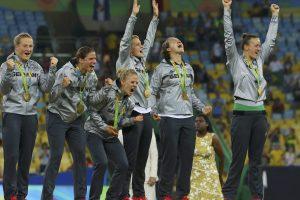 Olimpinių žaidynių moterų futbolo turnyrą laimėjo Vokietija