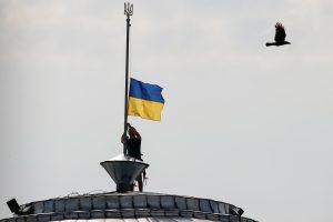 Per minos sprogimą Rytų Ukrainoje žuvo ESBO darbuotojas