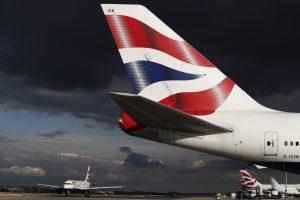"""""""British Airways"""" nekomentuoja, ar skraidins į Vilnių"""