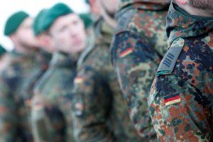 Į Lietuvą atvyksta 450 Vokietijos karių