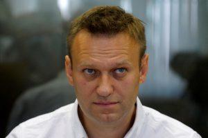 Nuteistas Kremliaus kritikas A. Navalnas žada dalyvauti prezidento rinkimuose