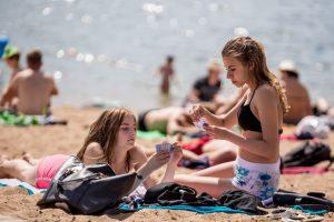 Dėmesio: Panemunės paplūdimyje maudytis nesaugu