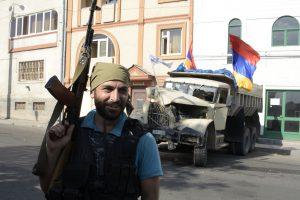 Armėnijoje po įkaitų dramos pasidavė 20 užpuolikų