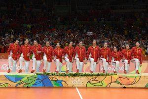 Kinijos moterų tinklinio rinktinė triumfavo trečiąkart