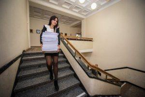 Atsisakė popieriaus – išsaugos daugiau nei 100 medžių
