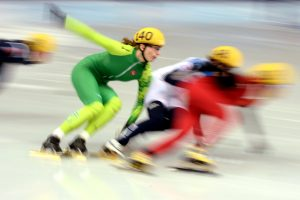 A. Sereikaitė pasaulio greitojo čiuožimo čempionate liko aštunta