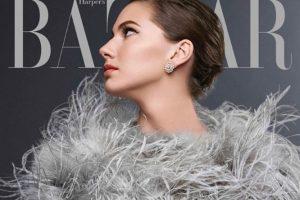 """""""Harper's Bazaar"""" viršelį papuošė A. Hepburn vaikaitės atvaizdas"""