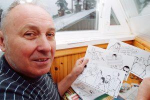 Karikatūristas J. Varnas sulaukė prezidentės sveikinimų