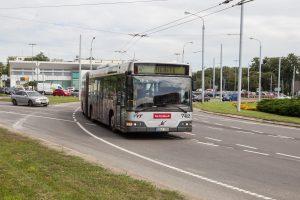 Vilniaus viešojo transporto kontrolieriai turės filmavimo kameras