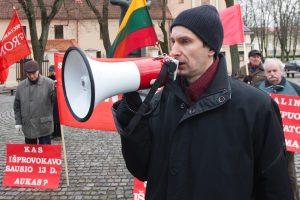 A. Paleckis užsimanė Kaune mitinguoti Vasario 16-ąją