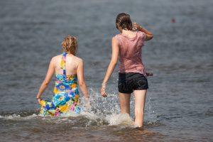 Sostinės maudyklų vandens kokybė – puiki