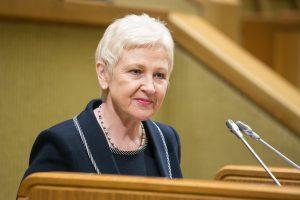Opozicija nori dviejų Seimo vicepirmininkų postų