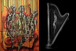 Fotografija ir tapyba susitinka muzikoje