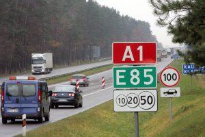 Lietuvoje kuriamas pirmasis išmanusis kelias