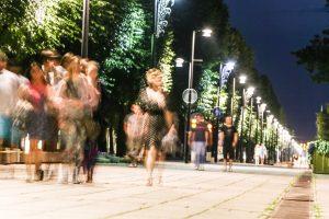 Artėja naktis, kai Kaunas nemiegos
