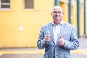 Kauno meras po kelių mėnesių sugrįžo į darbą