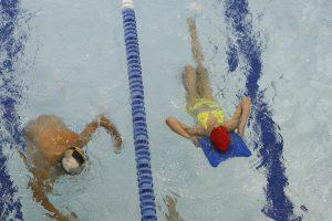 Mastaičių baseiną lankę vaikai palikti nežinioje