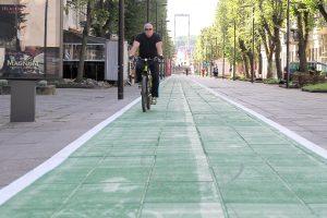 Pradedamas rengti Lietuvos dviračių takų plėtros planas