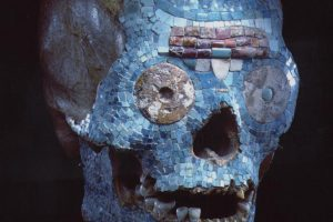 800 metų amžiaus mištekų kaukolė – klastotė, nustatė Nyderlandų muziejus