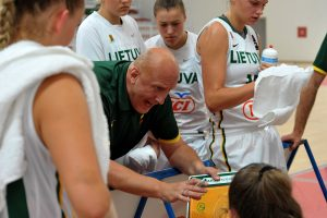 Dvidešimtmetės krepšininkės kopia į Europos elitą