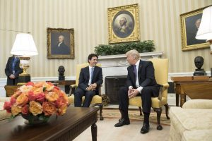 JAV prezidentas pasisako už abipusiai naudingus santykius su Kanada