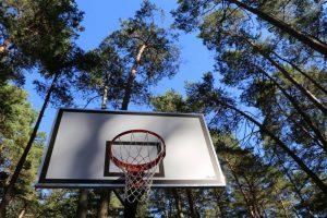 Kačerginės sanatorijoje – nauja sporto aikštelė